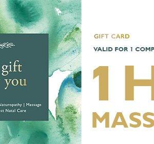 1hr massage gift card
